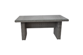 ARMADALE - Outdoor Wicker Rectangle Dining Table