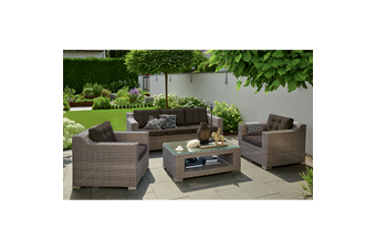 BEAUMARIS - Superior 5 Seater Wide-Armrest Lounge Set