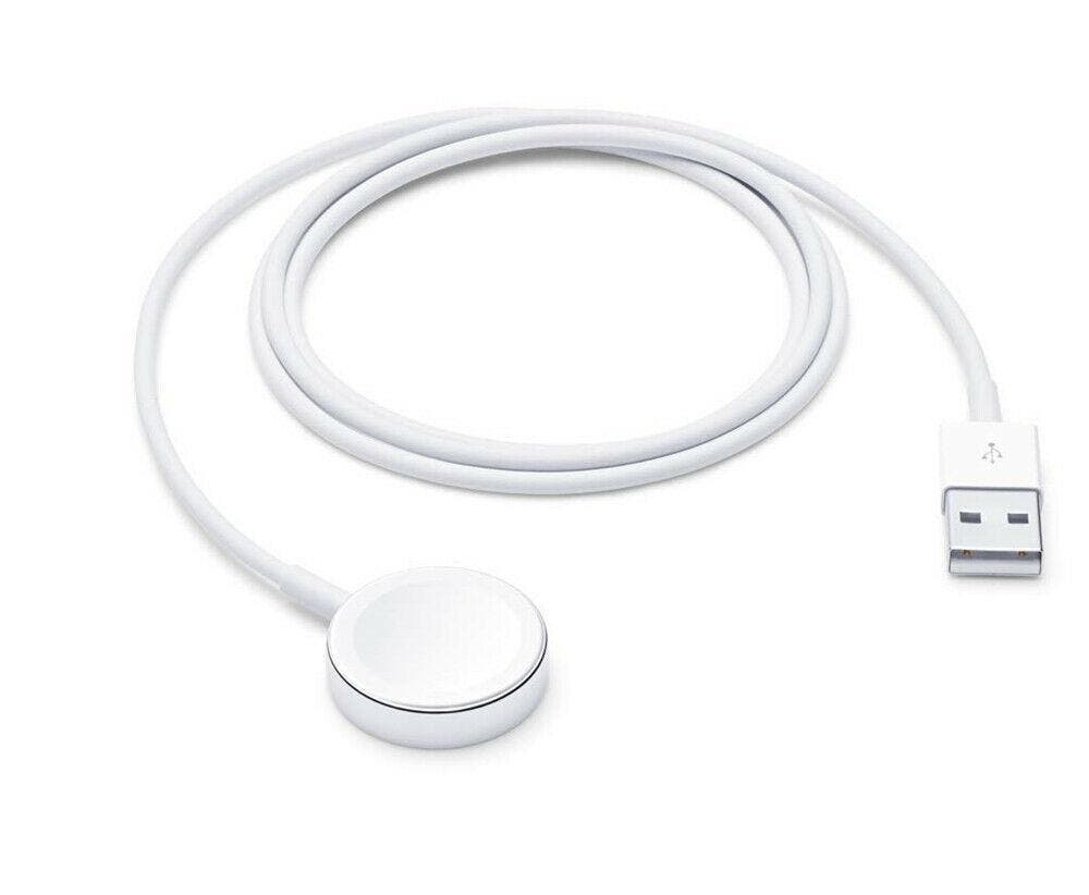 For Apple Watch Series 4/3/2/1 Wireless Charger Magnetic Charging Cable Dock Features:    Powerful Compatibility:For iWatch Charging Cord Combine Magsafe Technology with Inductive Charging Compatible with All Apple Watch Models(Made for Apple Watch Seies 1 2 3 4) Amazing Charging Speed:It only takes less than 2-3 hours to charge your watch's battery from 0~100%. For faster charge speed, use a Quick Charge adapter Extraordinary Durability:This Magnetic Charging Cable Pad for iWatch is Safe to Use, It Provides Temperature Protection, Over-Current Protection, Over-Voltage Protection, No Worries about Damaging Your iWatch Innovative Portability:Ultra Slim and Lightweight, Suitable for Many Places like Office, Bedroom, in Your Car, Etc. A Must Have for Going Out and Traveling    Specifications:  Material: Metal Alloy/Plastic Length: 1M/3.3FT Charging Time: 2-3 Hours Colours: White Compatible for iwatch 1/2/3/4  For Apple Watch Series4: Apple Watch, Apple Watch Nike+, Apple Watch Hermès, Apple Watch Edition. For Apple Watch Series3: Apple Watch, Apple Watch Nike+, Apple Watch Hermès, Apple Watch Edition. For Apple Watch Series2: Apple Watch, Apple Watch Nike+, Apple Watch Hermès, Apple Watch Edition. For Apple Watch Series1: Apple Watch, Apple Watch Nike+, Apple Watch Hermès, Apple Watch Edition.   Package:  1X Charger Cable