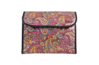 Dilly's Collections Flip Hanging Cosmetic Bag Makeup Bag Extra Room Travel Set - RETRO