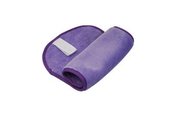 Dilly's Collections Microfibre Make-Up Remover Cloth Reusable Face Wipes 2x Pack - PURPLE