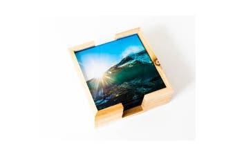 Artist Lab - Chris Dixon - Sunburst Glass Coaster Set (MIN 2)