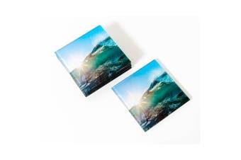 Artist Lab - Chris Dixon - Sunburst Glass Coaster Set (MIN 2) - Without Box