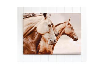 Canvas Print - Galloping Ahead Horses - 70x50