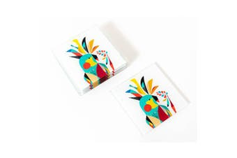 Artist Lab - Rachel Lee - Cockatoo Coaster Set (MIN 2) - Without Box