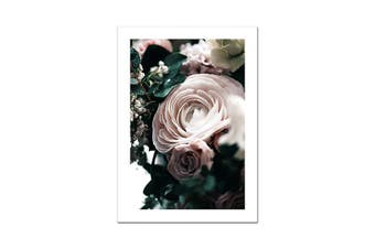'Nordic Figure Poster Flowers' Collection Wall Art Print (No Frame) - A2 40x60cm No Frame / Picture 1 / CHINA