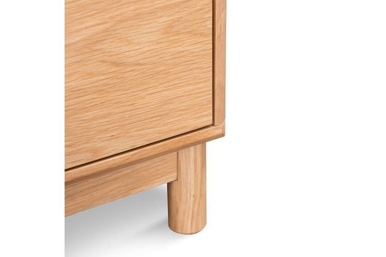 CST6087-CN - Bedside Table - Natural Oak
