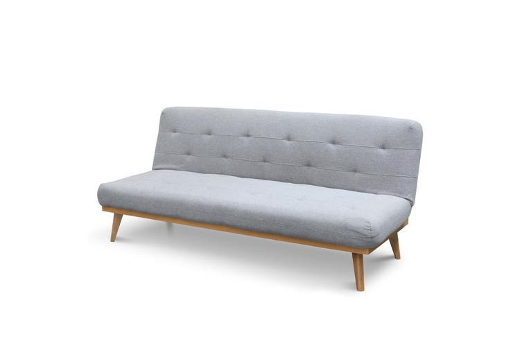CLC2503-DCO 2 Seater Sofa Bed - Moonlight Grey