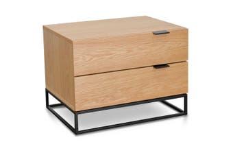 CST2139-CN Bedside Table - Natural Oak