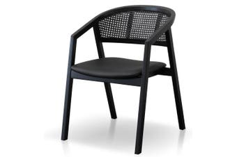 CDC6144-CU Wooden Dining Chair - Black