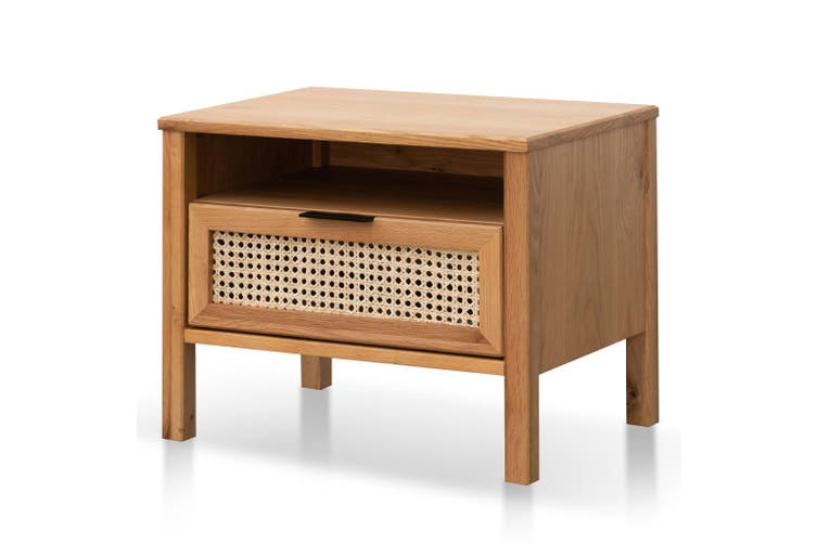 CST6141-CU Wooden Bedside Table - Natural