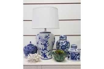 Emperor Jar - Ceramic / Blue/ White