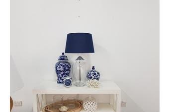 Posy Ginger Jar - Ceramic / Blue\/White