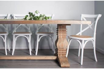 Parquet Dining Table King Reclaimed Pine - Reclaimed Pine / Pine