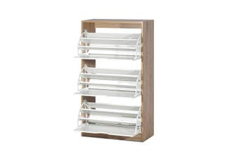 Artiss 36 Pairs Shoe Cabinet Rack Organiser Storage Shelf Wooden