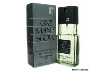 One Man Show 100ml EDT  For Men By JACQUES BOGART