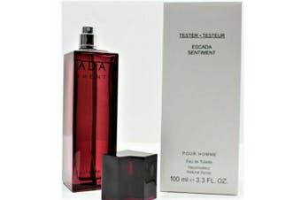 ESCADA SENTIMENT 100ml EDT Spray for Men By ESCADA ( Tester )
