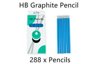 288 x HB Graphite Pencil Writing Drawing Art Sketch School Student Exam Study