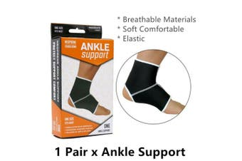 Neoprene Ankle Support Protector Compression Sleeve Guard Gym Sports Strap Brace