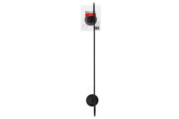 2x Strong Suction Wall Towel Rail Ring Bathroom Hook Hanging Holder Hanger Rack