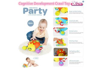 Baby Cognitive Crawl Toys Infant Toddler Newborn Education Kids Play Learning