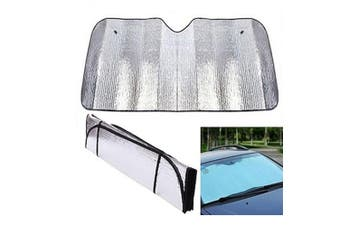 Car Windscreen Sun Shade Sunshade Heat Reflective Visor Front UV Shield 130x60CM