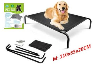 Medium Pet Dog Elevated Bed Trampoline Heavy Duty Hammock Canvas Cat Puppy Cover