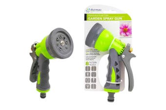 Plastic Garden Hose Nozzle 8 Functions Spray Gun Water Wash Car Sprayer Flower