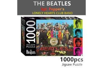 Beatles Sgt Peppers Jigsaw Puzzles 1000 Pieces Set Adult Kids Toy Activity Games