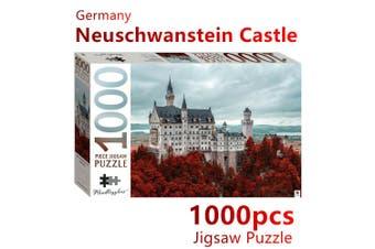 Castle Germany Jigsaw Puzzles 1000 Pieces Set Adult Kids Toys Activity Games