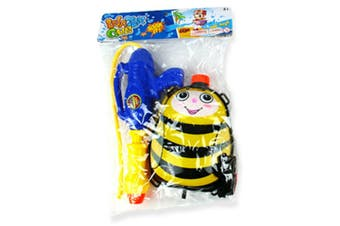 1 x Yellow Water Gun Back Pack Cannon Blaster Shooter Summer Beach Party Pool Tank Toy