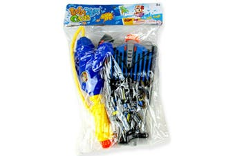 1 x Blue Water Gun Back Pack Cannon Blaster Shooter Summer Beach Party Pool Tank Toy