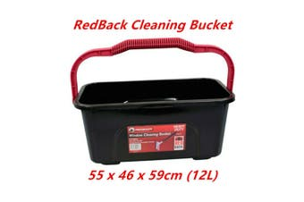 12L Heavy Duty Multi Purpose Window Cleaning Cleaning Bucket Non Slip Handle