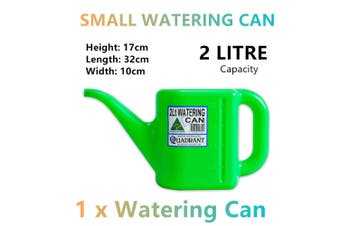 Small Watering Can 2L Garden Water Plastic Tool Plant Flower Outdoor Pot Tree