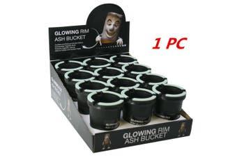 1 x Ashtray Butt Bucket Cigarette Tobacco Holder Ash Container Storage Open top