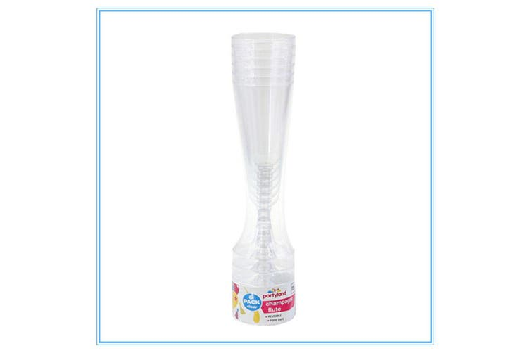 200 Disposable Plastic Champagne Flutes 125ml Wedding Party Wine Glasses Glass D