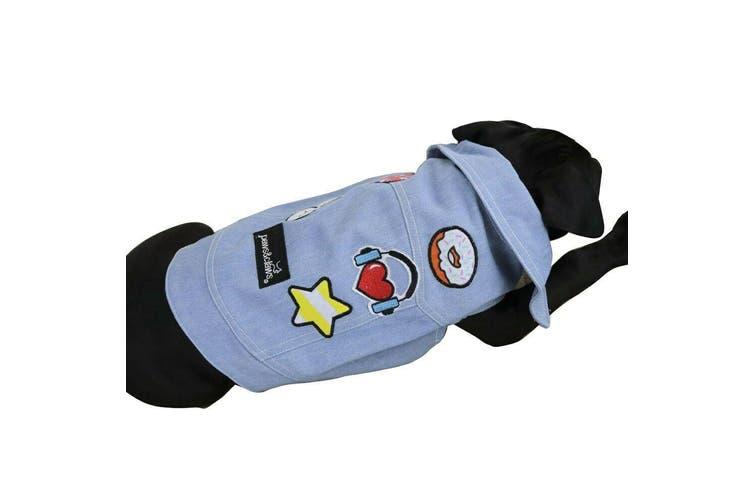 Dog Hipster Jacket Coats Pet Puppy Flexible Warm Washable Vest Clothes Cute 40cm