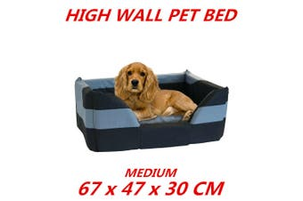 Medium High Wall Heavy Duty Pet Bed Mattress Dog Cat Pad Mat Cushion Soft Comfort