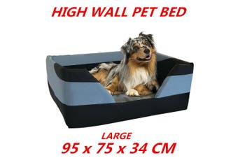 Large High Wall Heavy Duty Pet Bed Mattress Dog Cat Pad Mat Cushion Soft Comfort