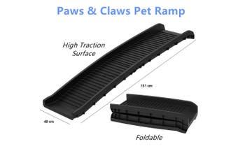 Pet Access Ramp Car Stair Portable Steps Ladder Lightweight Folding Doggy Puppy