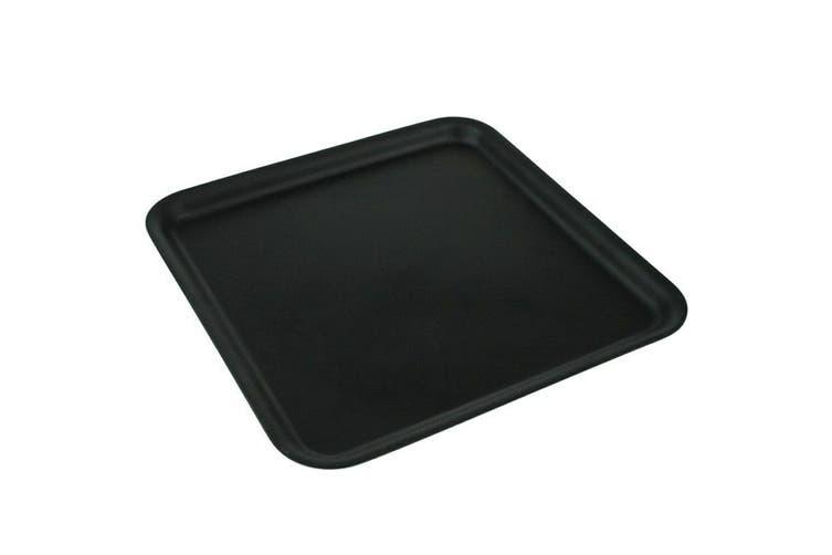 24 x Matte Square Melamine Serving Platters 33cm Plates Cafe Catering Tray Color