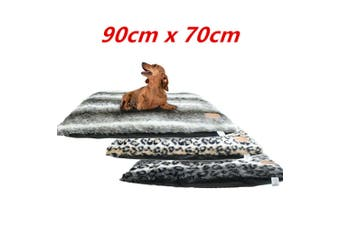 Pet Pillow Mat Bed 90cmx70cm Soft Plush Warm Comfort House Pad Dog Pup Large