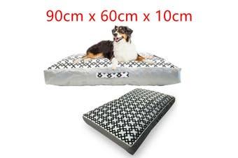Pet Dog Cushion Mattress Pad Mat Soft Comfort Thick Wall Pup House Pillow Large