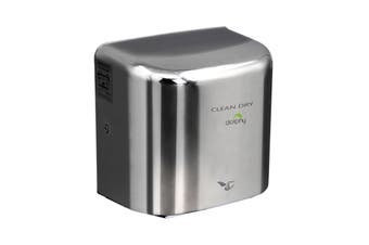 Dolphy 304 Stainless Steel Automatic high speed Hand Dryer 1000W - Silver