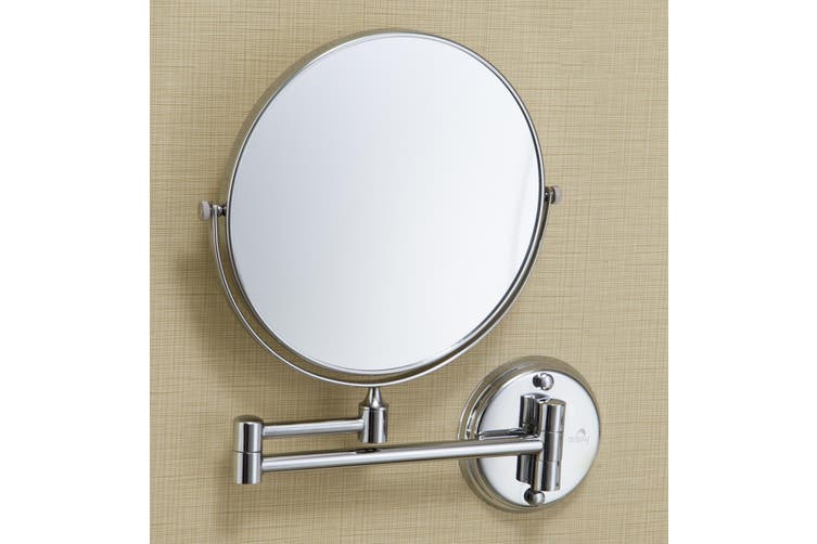 Dolphy 5X Magnifying Shaving and Makeup Mirror - 8 Inch