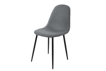 4 x Replica Eames Chairs Dining Office Cafe Lounge-Dike Grey