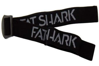 Fat Shark Goggle Head Strap (Black)