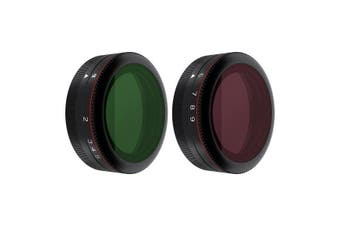 Freewell 2-pack  Variable ND Filters for Phantom 4 Pro (2-5 & 6-9 f-stops)