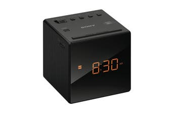 Sony ICFC1 Dual Alarm Clock Radio (Black)