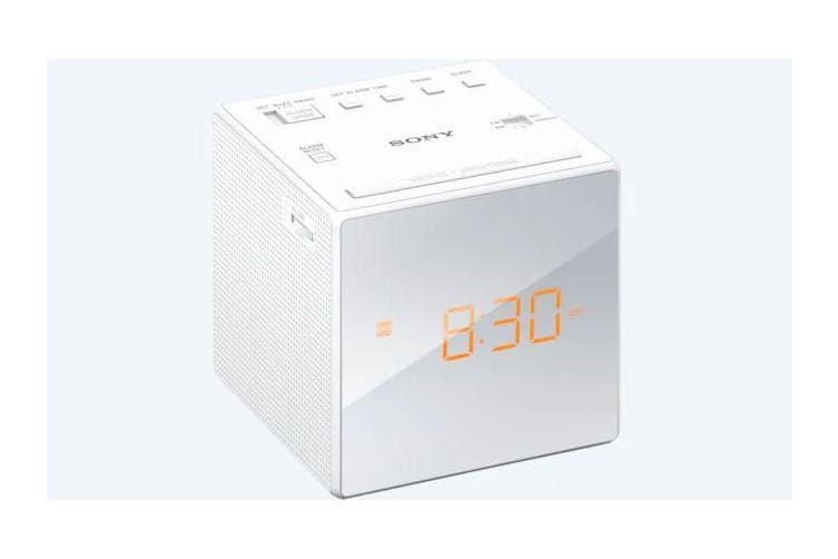 Sony ICFC1 Dual Alarm Clock Radio (White)